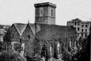 St Helier Town Church, 1860's