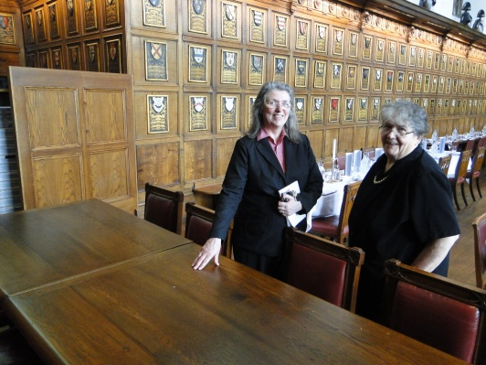 Lesley, Archivist of Middle Temple and our guide