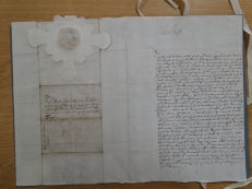 A letter from King Charles I to Richard Lane (and the Benchers at Middle Temple)