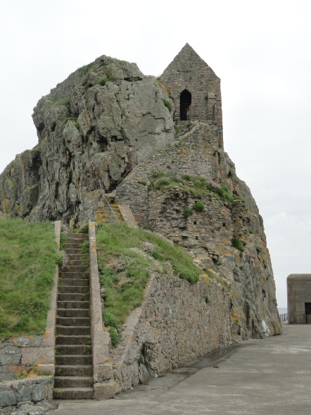 Hermitage of Saint Helier himself, Elizabeth Castle