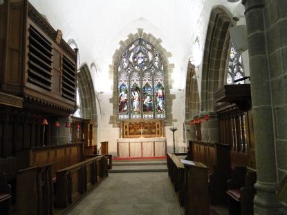 Altar, St Helier Town church
