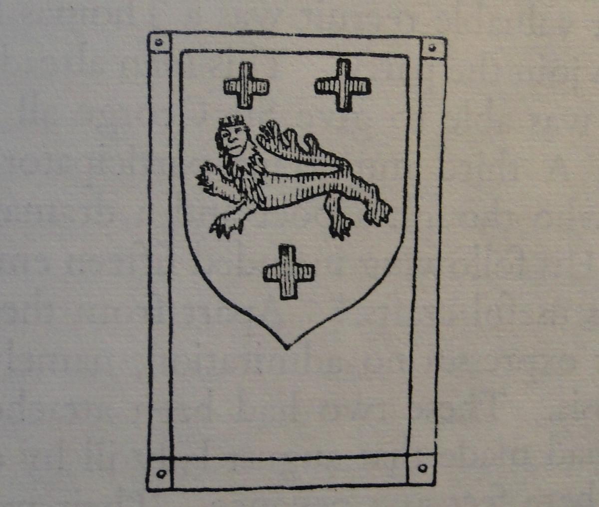 The Heraldic Arms of RichardLane