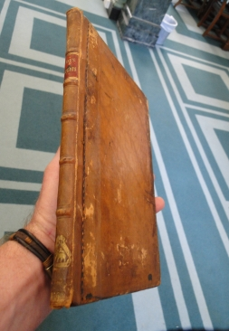 "Middle Temple Library's restored copy of ""Lane's Reports"""