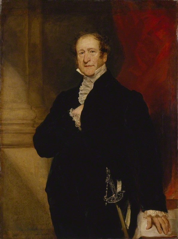NPG 375; John Campbell, 1st Baron Campbell of St Andrews by Thomas Woolnoth