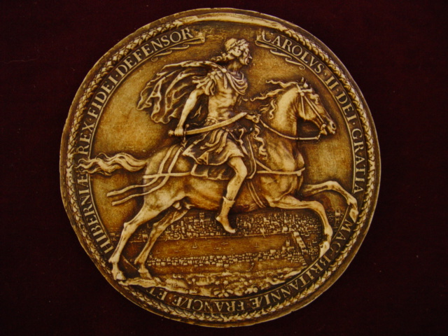 CharlesII,SecondGreatSeal(reverse)1663