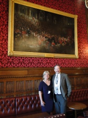 It took special permission to take a photograph within Parliament
