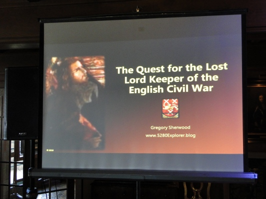The title slide of the presentation