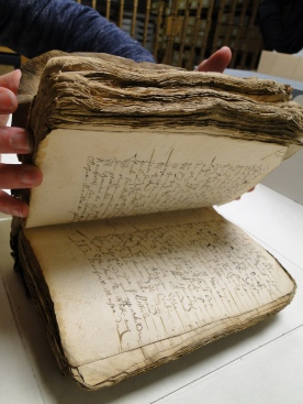 A set of bound manuscripts we found in the papers of Professor GDW Hall of Oxford