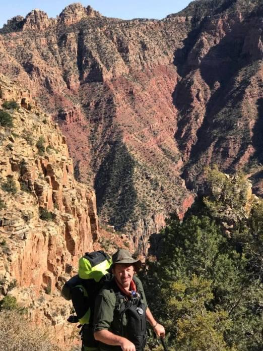 Hiking the Grand Canyon in Arizona, Fall 2017